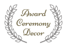 Link to Award Ceremony Decor page