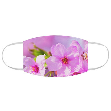 Fabric Face Mask (Pink Cherry Blossom 121)