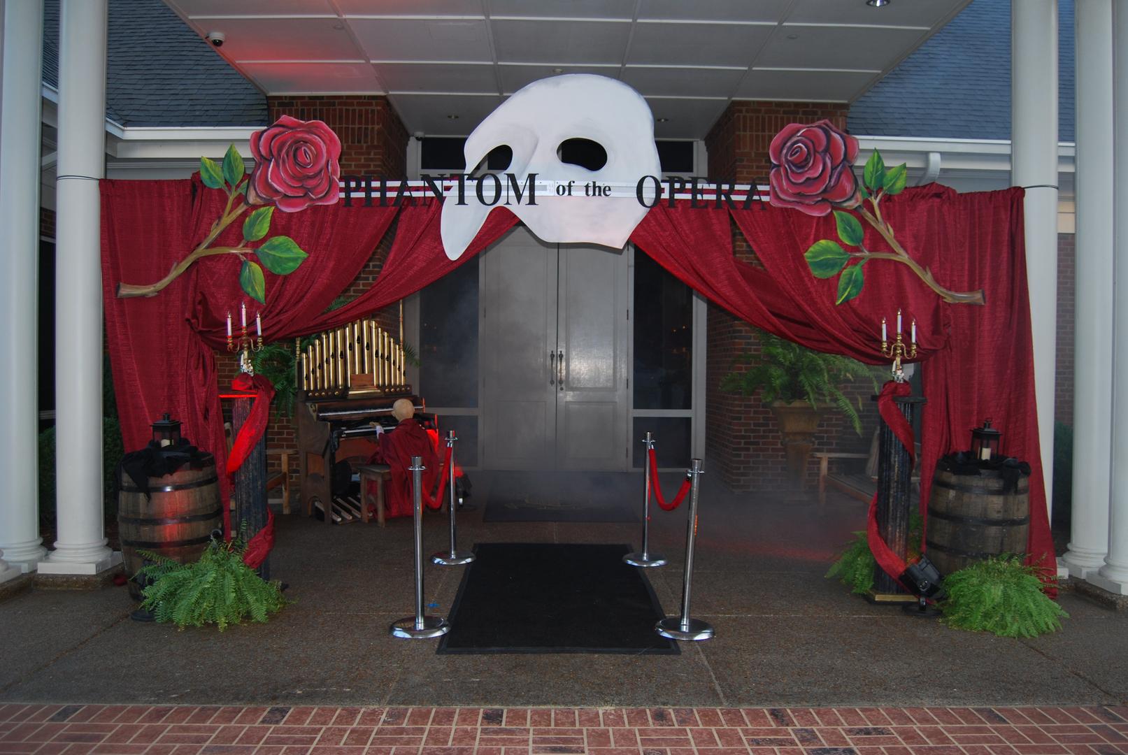 Phantom of the Opera Themed Decor