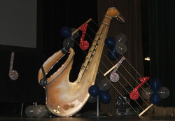 Musical Themed Event Decor