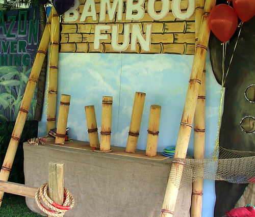 Bamboo Fun Carnival Game at a Company Picnic in Nashville, TN
