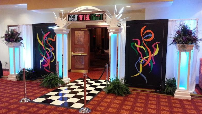 light-up-the-night-themed-event-entrance-decor