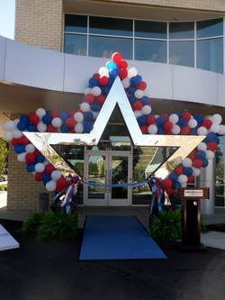 Patriotic Themed Event Decor