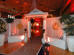 Grecian Themed Event Decor