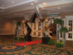 Awards Ceremony Decor - Star Entrance with Red Carpet.