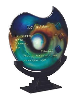 Poseidon Art Glass Gift Award