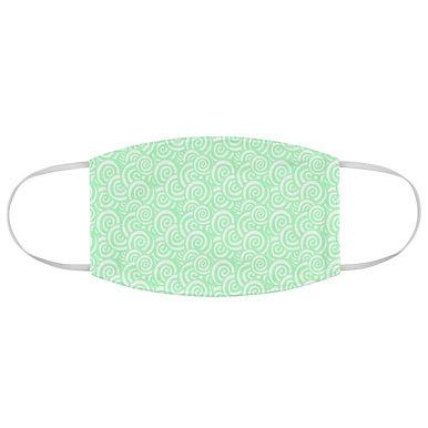 Fabric Face Mask (Swirly Pattern 108)