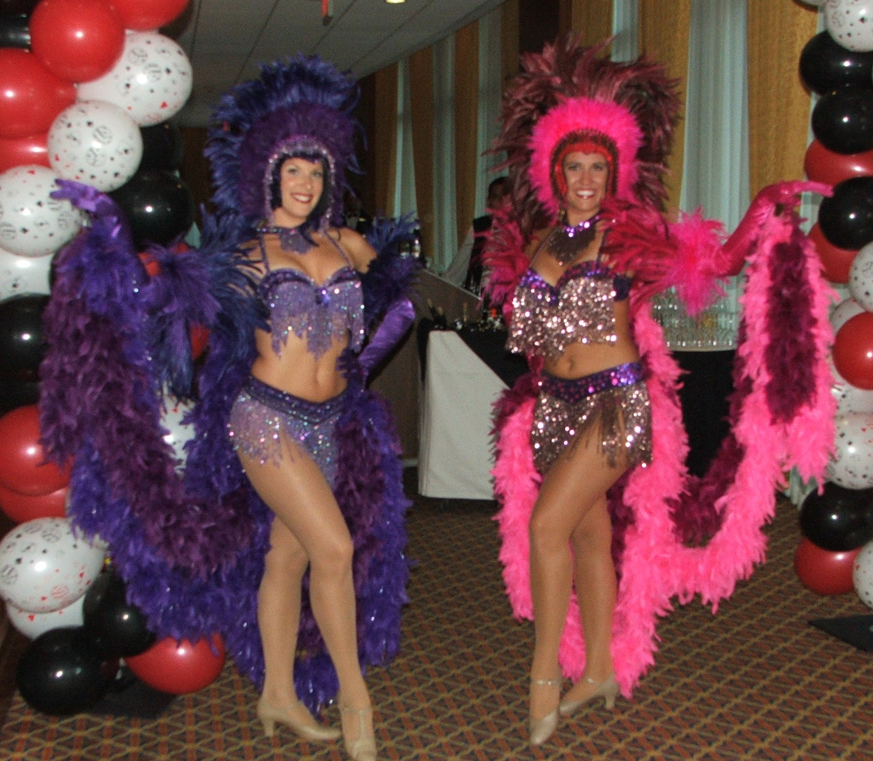 Casino Party Showgirls