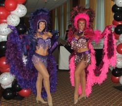 Casino Party Showgirls