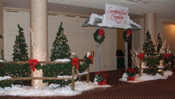 Christmas Entrance Decor