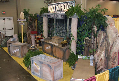 Themed Tradeshow Booth Decor