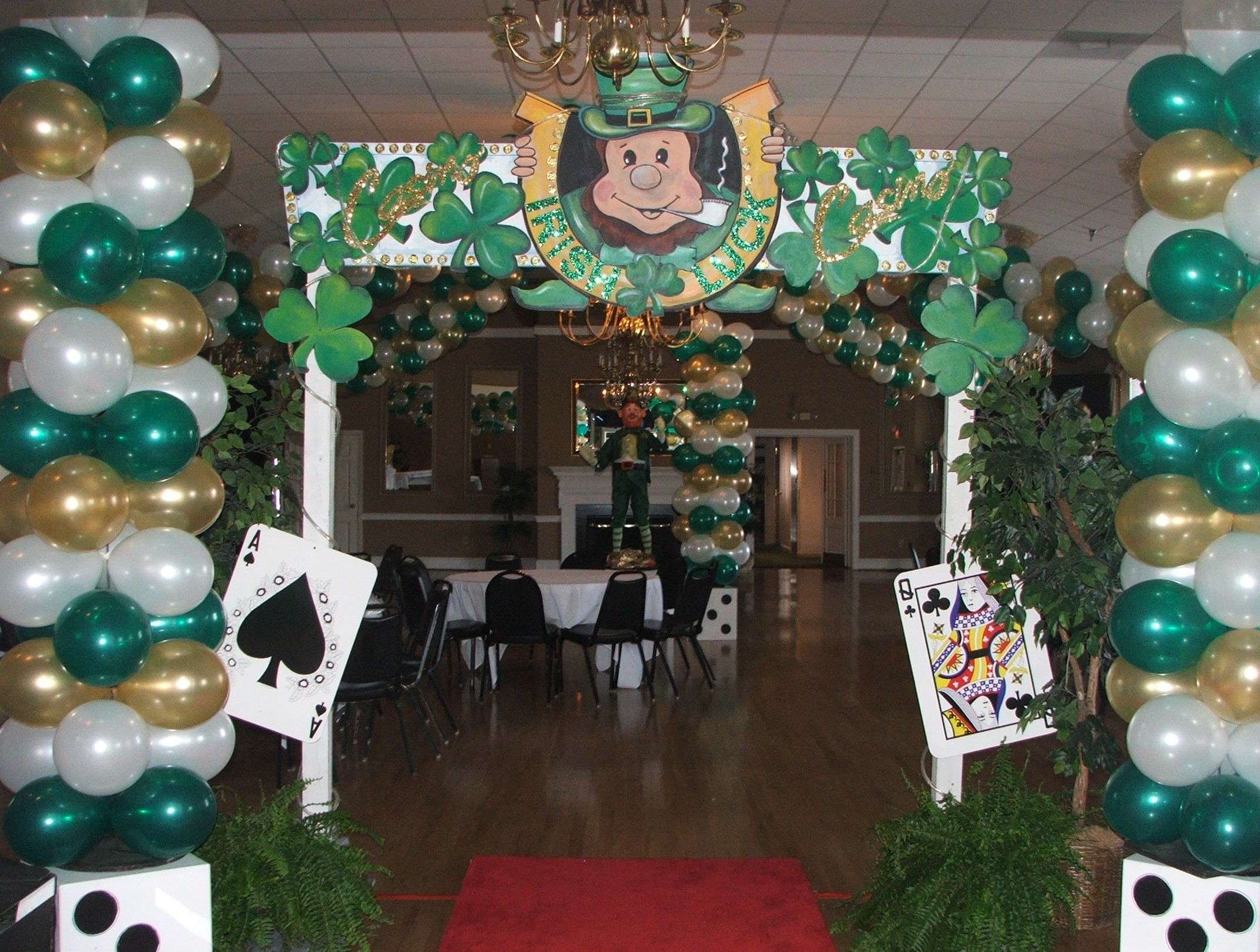 St. Patrick's Day Theme Party