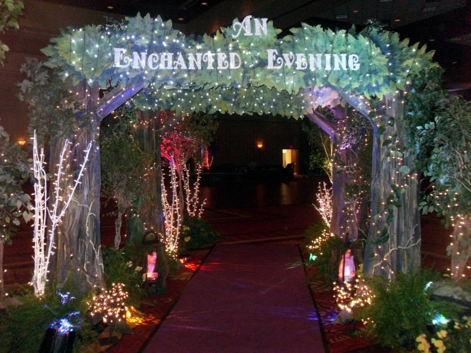 Themed Event Entrance Decor