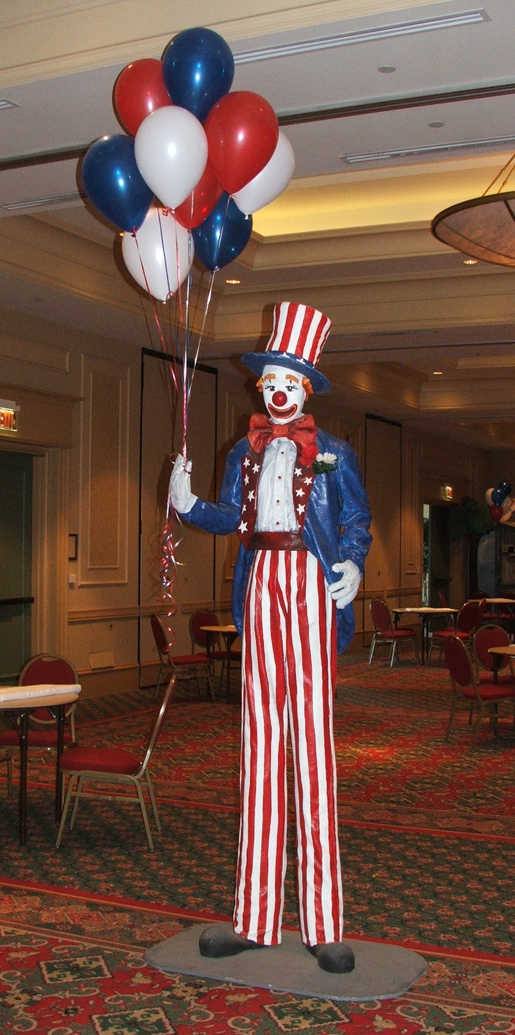 Patriotic Balloon Decor