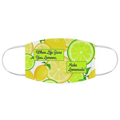 Fabric Face Mask (Make Lemonade)