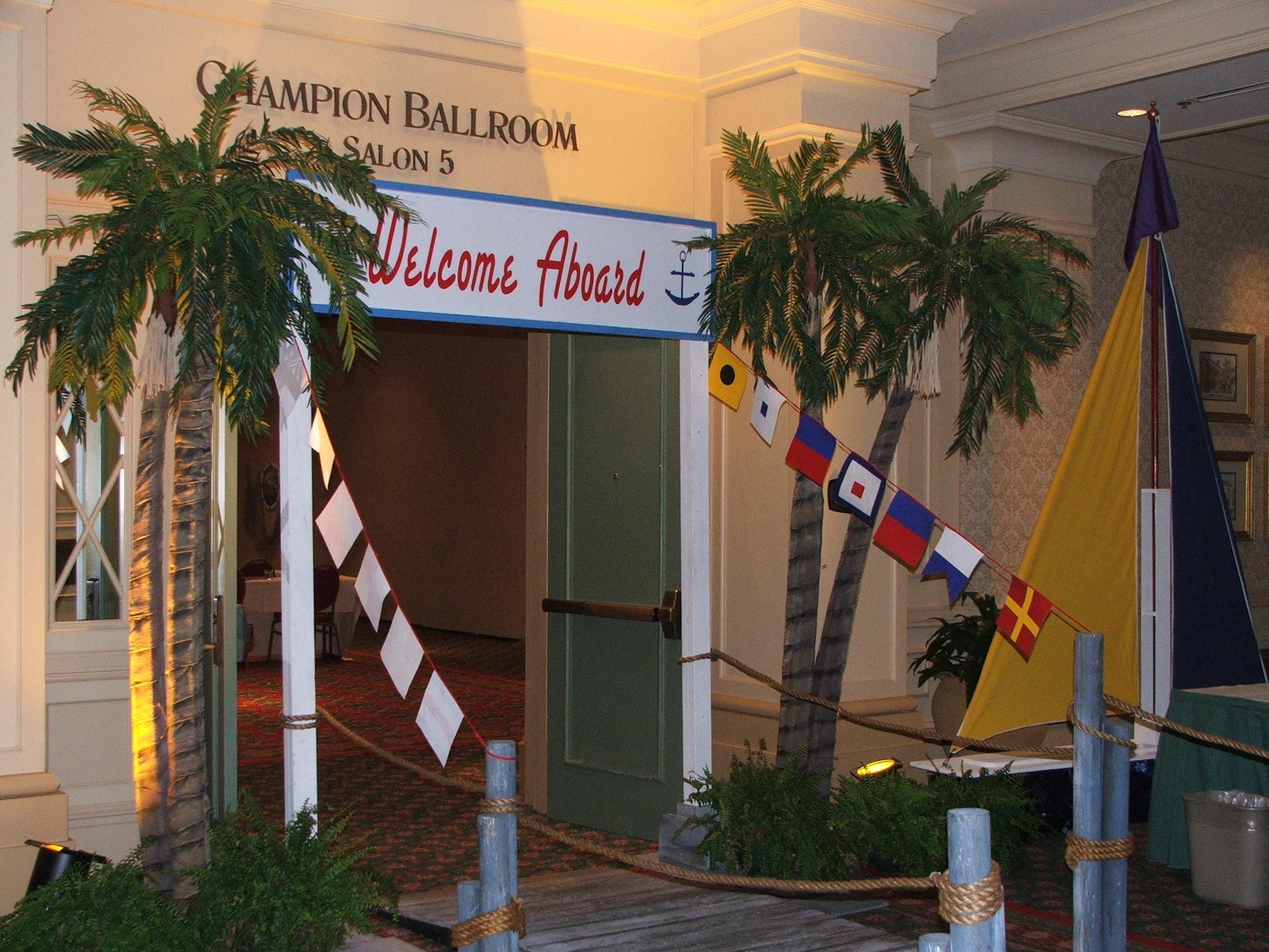 Nautical Themed Event Decor