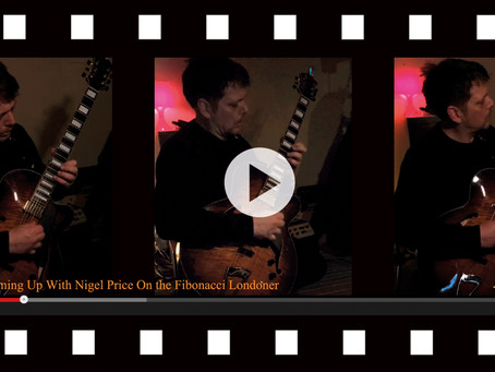VIDEO 2 - WARMING UP WITH NIGEL PRICE!