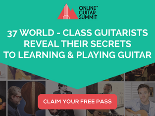 WE ARE PROUD SPONSORS OF THE ONLINE GUITAR SUMMIT!