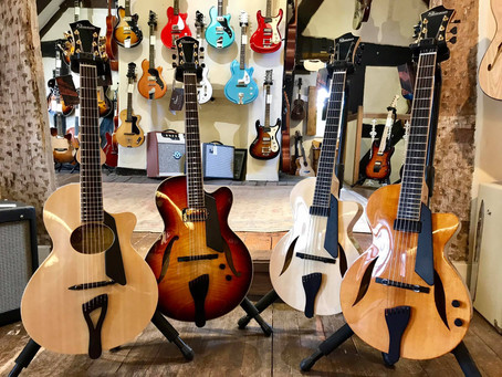 FIBONACCI GUITARS AT GUITAR VILLAGE, FARNHAM!