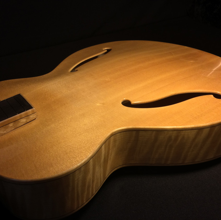 HAND CARVED SPRUCE TOP