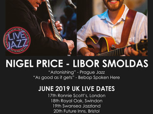 NIGEL PRICE - LIBOR SMOLDAS LIVE!