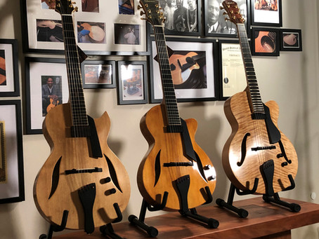 A TRIO OF FIBONACCI GUITARS!