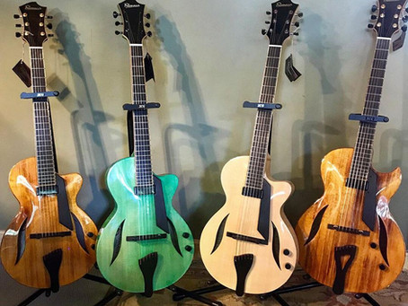 FIBONACCI GUITARS - HOT OUT THE WORKSHOP!