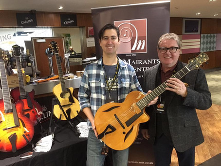 THE LONDON GUITAR SHOW - MORE FIBONACCI PICTURES!