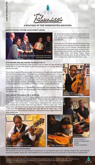 FIBONACCI GUITARS JUNE 2019 NEWSLETTER-2