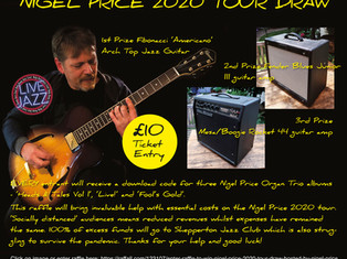 ENTER THE NIGEL PRICE TOUR DRAW RAFFLE!