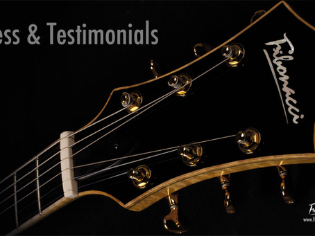 FIBONACCI GUITARS PRESS & TESTIMONIALS