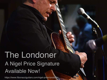 FIBONACCI LONDONER, A NIGEL PRICE SIGNATURE!