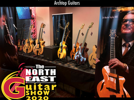 FIBONACCI GUITARS AT THE NORTH EAST UK GUITAR SHOW!