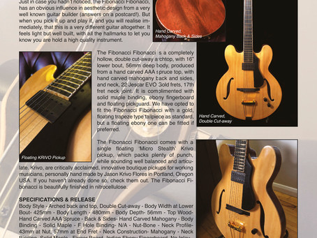 FIBONACCI GUITARS FEBRUARY NEWSLETTER!