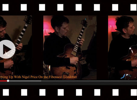 VIDEO 1 - WARMING UP WITH NIGEL PRICE!
