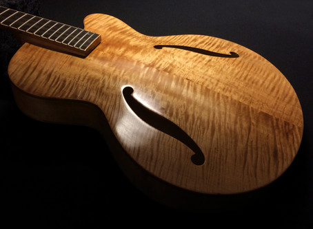HAND RUBBED, OIL FINISHED FIBONACCI CALIFORNIAN!