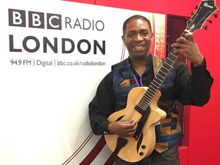 CIYO BROWN WITH MORGAN HERITAGE AT THE BBC