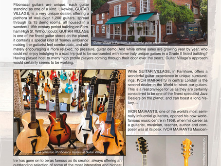 FIBONACCI GUITARS JUNE NEWSLETTER!