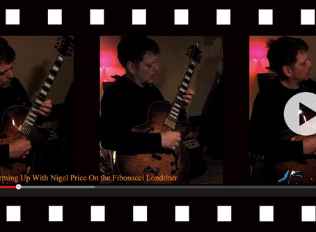 VIDEO 3 - WARMING UP WITH NIGEL PRICE!