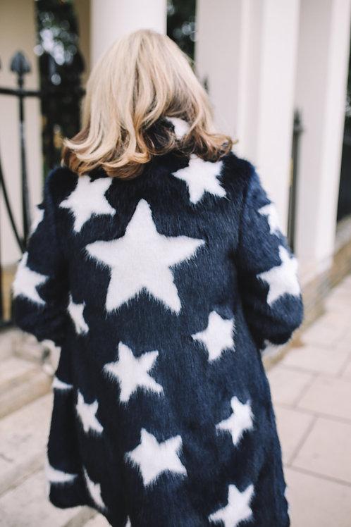 Classic Coat with Stars