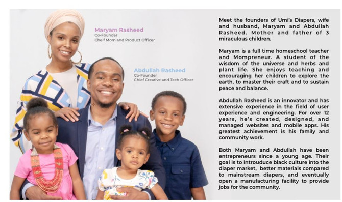 The Rasheed family aims to take over the disposable diaper industry