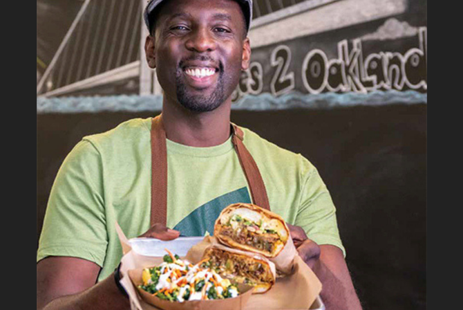 Creative Chef GW dishes out vegan comfort food and recipes