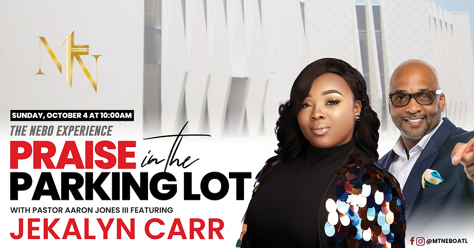 Mt.Nebo Praise In The Parking Lot featuring Jekalyn Carr