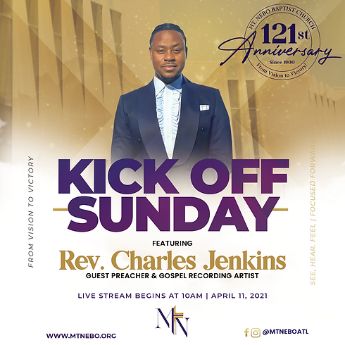 Kick Off Sunday // From Vision to Victory