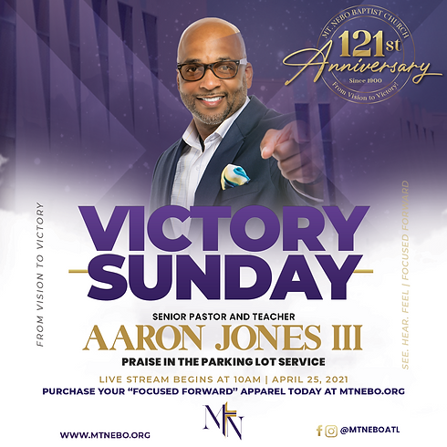 Victory Sunday // From Vision to Victory