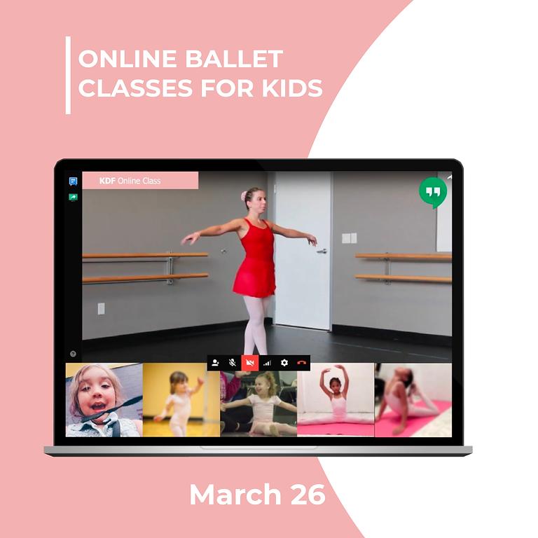 Online Ballet - March 26