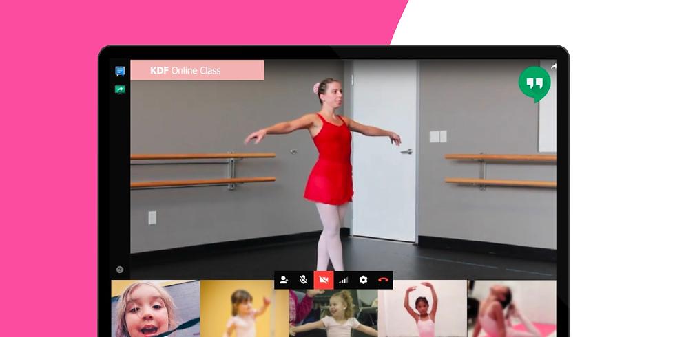 Online Ballet - April 16