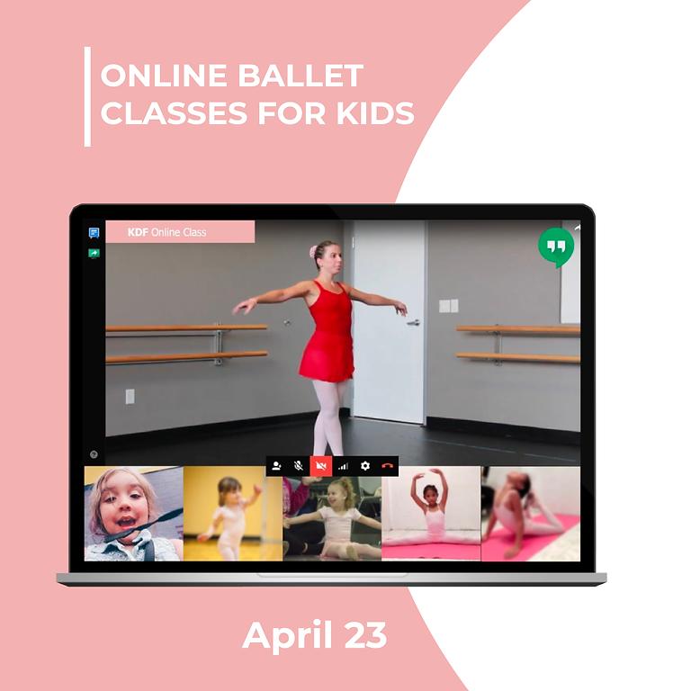 Online Ballet - April 23