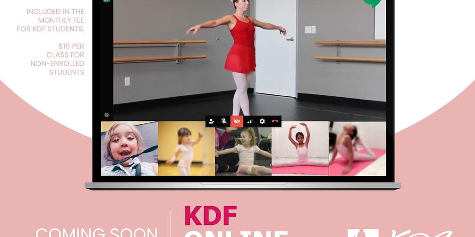 Online Ballet - April 9