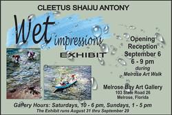 2019 August - September - Cleetus Antony